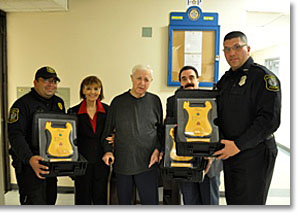 November 2012 Additionnal Defibrillators